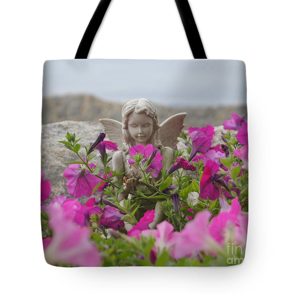 Angel Tote Bag featuring the photograph Admire by Joe Geraci