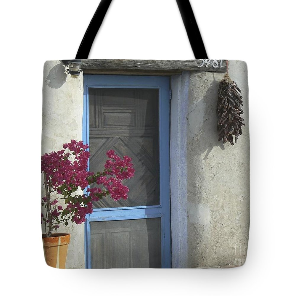 Adobe Tote Bag featuring the photograph Adobe Home In Ft. Lowell by Rincon Road Photography By Ben Petersen