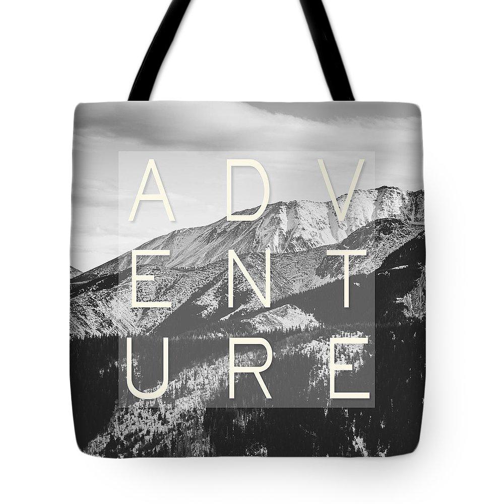 White Mountains Photographs Tote Bags