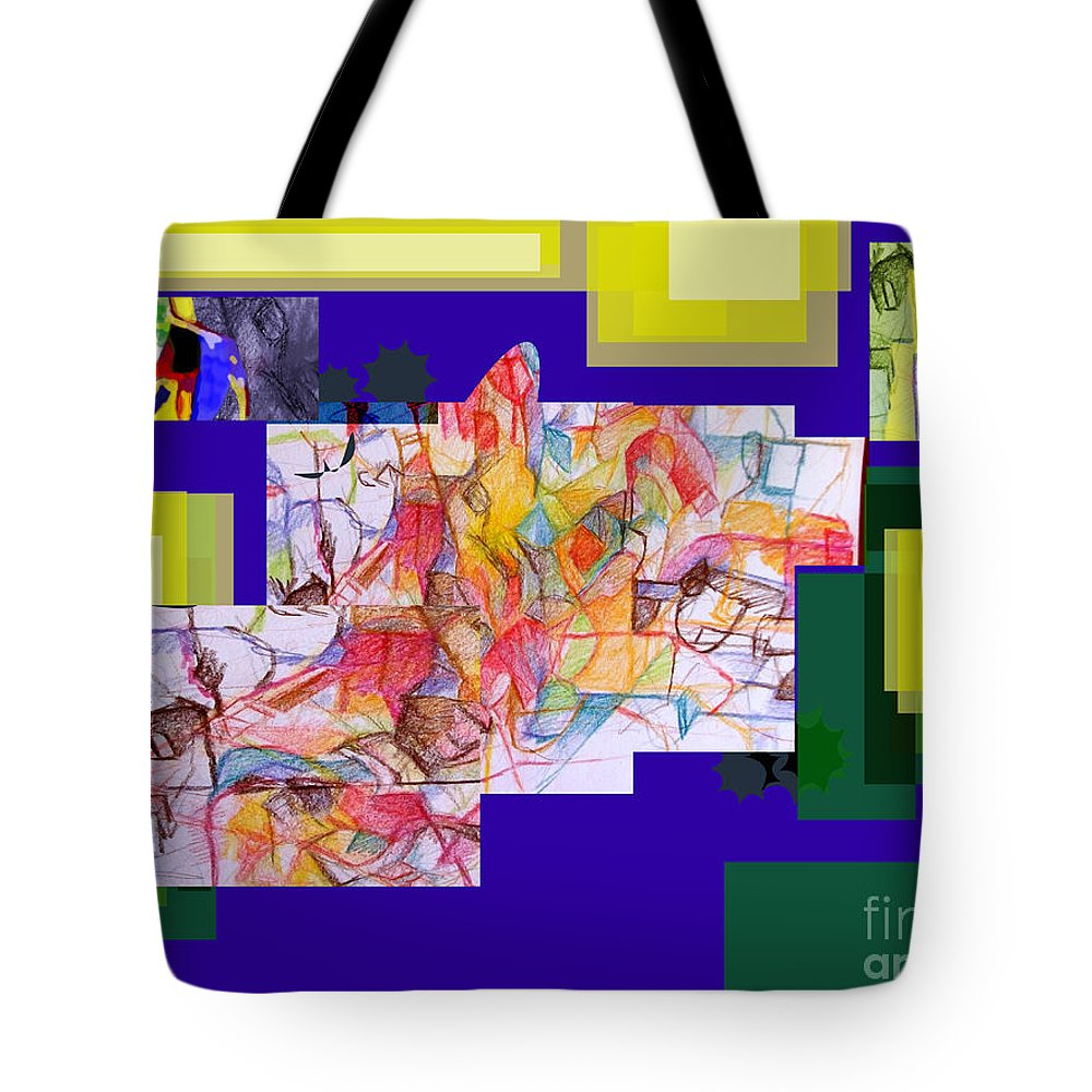 Torah Tote Bag featuring the digital art Benefit Of Concealment 2 by David Baruch Wolk