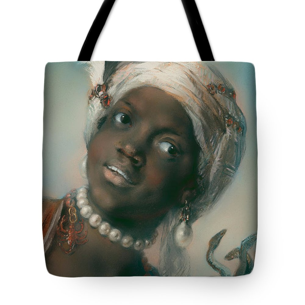 Painting Tote Bag featuring the painting Africa by Mountain Dreams