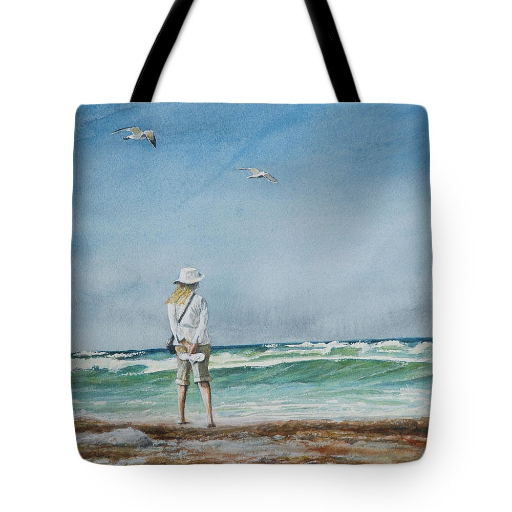 Landscape Tote Bag featuring the painting After The Storm by Arthur Fix