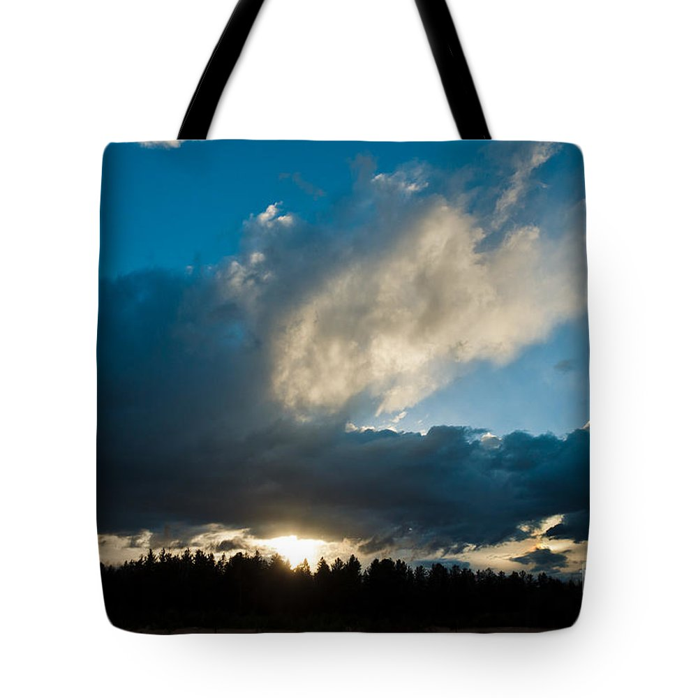 Landcapes Tote Bag featuring the photograph After The Storm by Cheryl Baxter