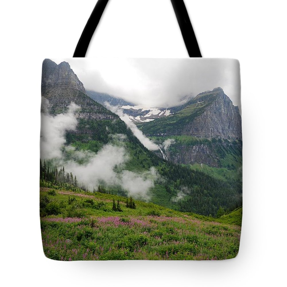 Mountains Tote Bag featuring the photograph After The Storm by Deanna Cagle