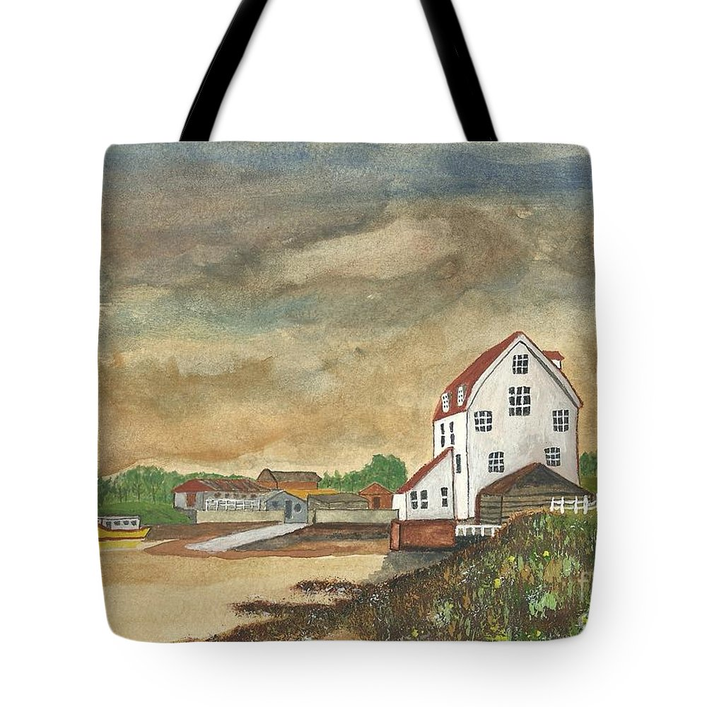 Tide Mill Tote Bag featuring the painting After The Storm by John Williams