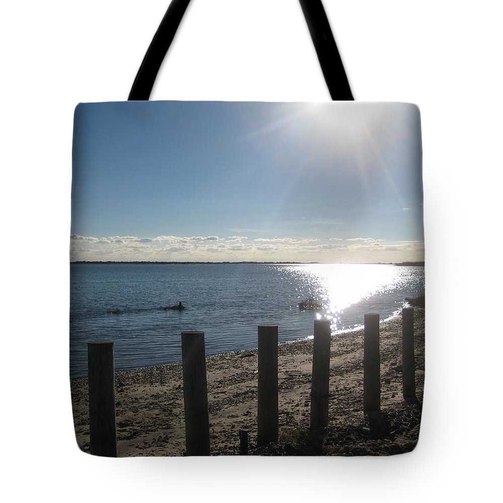 Water Tote Bag featuring the photograph Afternoon On The Bay by Melissa McCrann