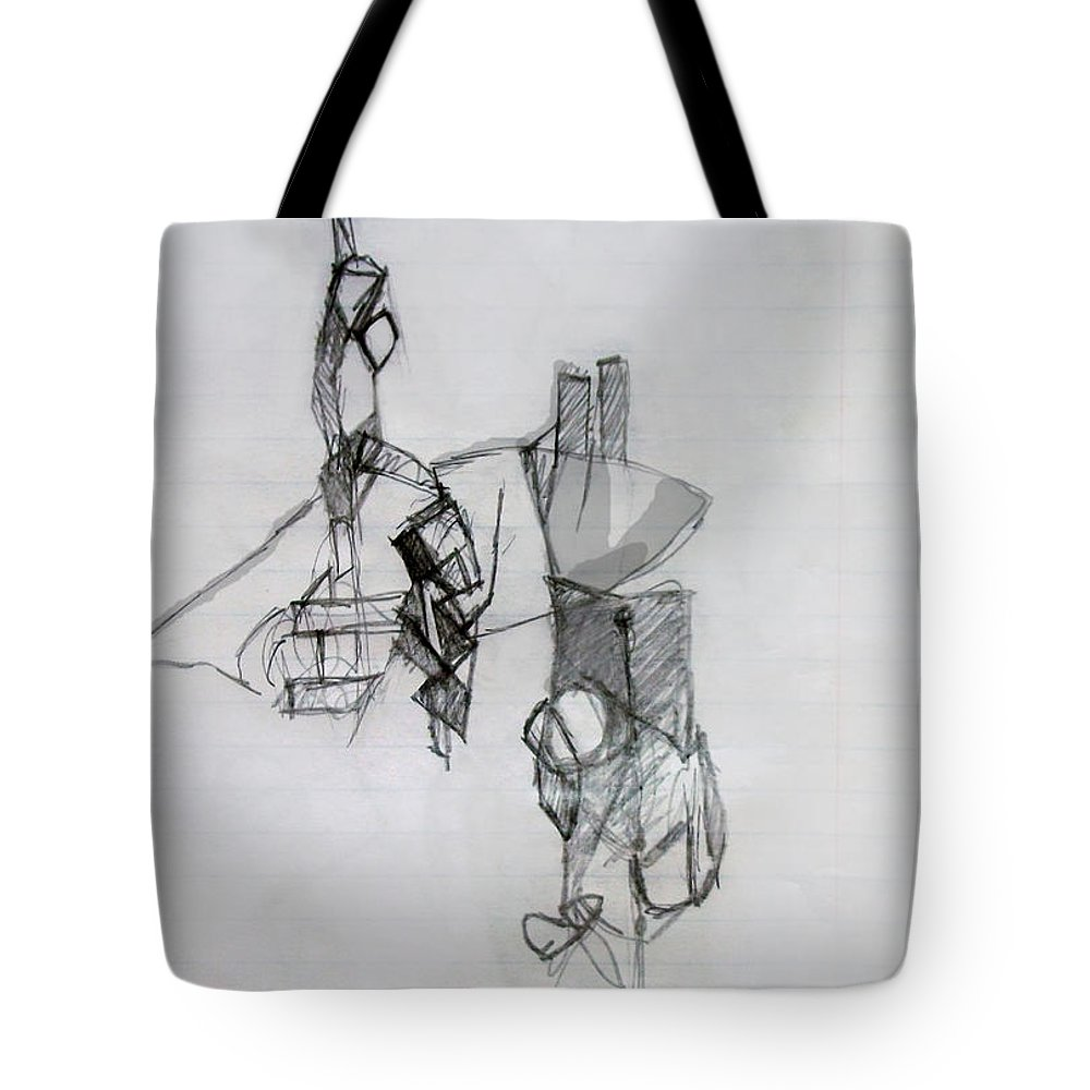 Torah Tote Bag featuring the digital art Self-renewal 13a by David Baruch Wolk