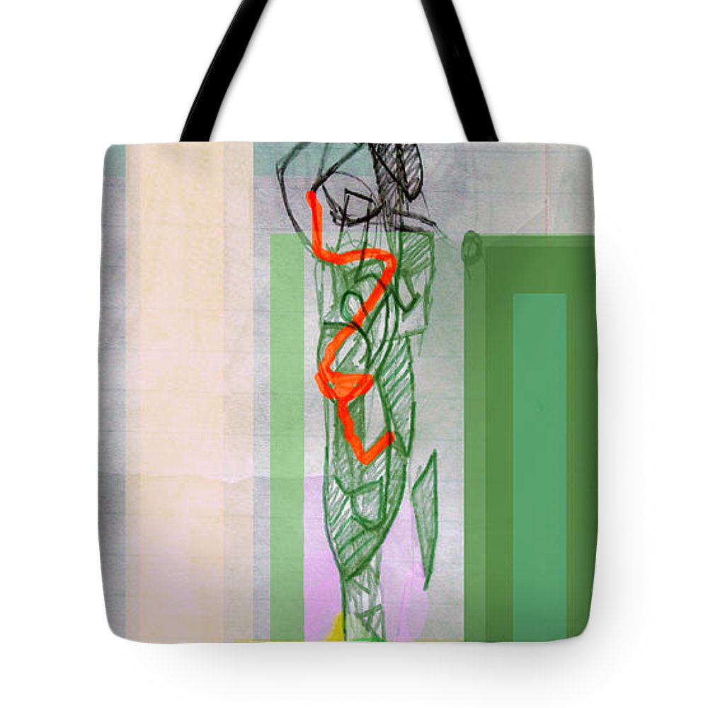 Torah Tote Bag featuring the digital art Self-renewal 8b by David Baruch Wolk