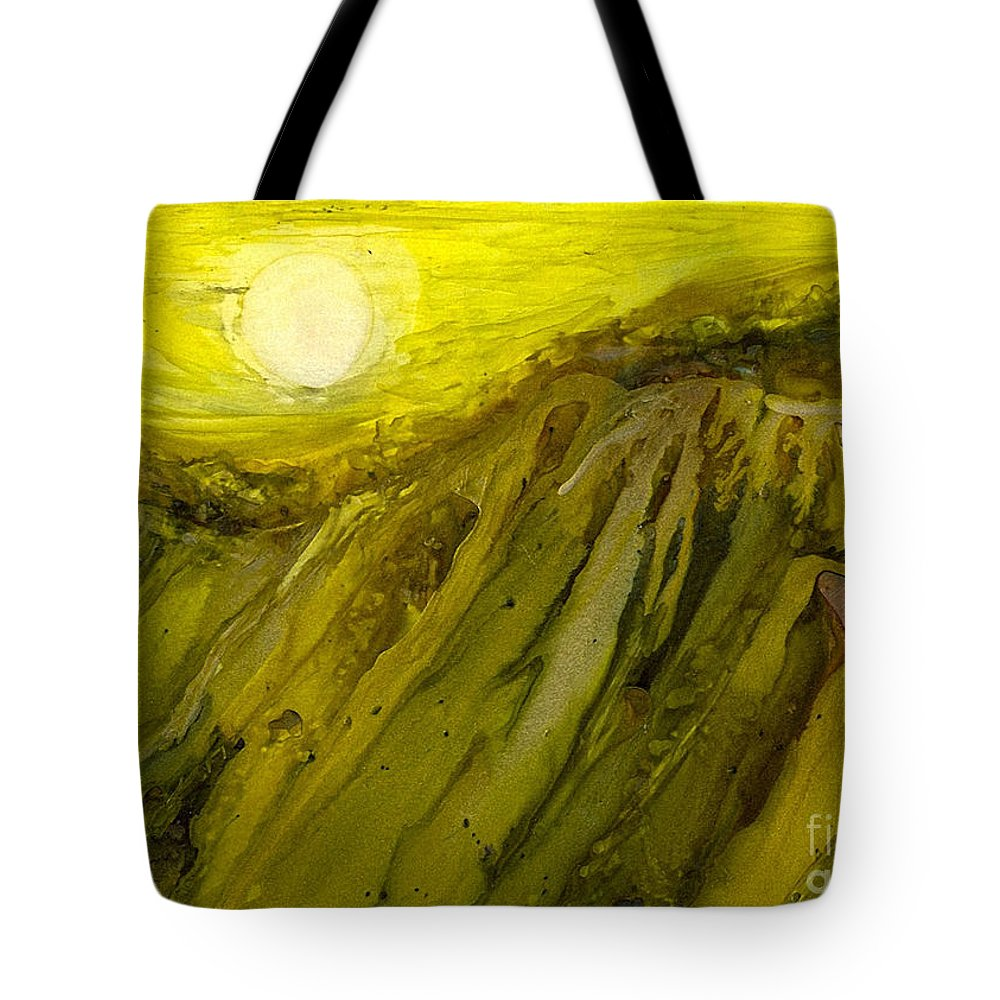 Alcohol Inks Tote Bag featuring the painting Ai-8 by Francine Dufour Jones