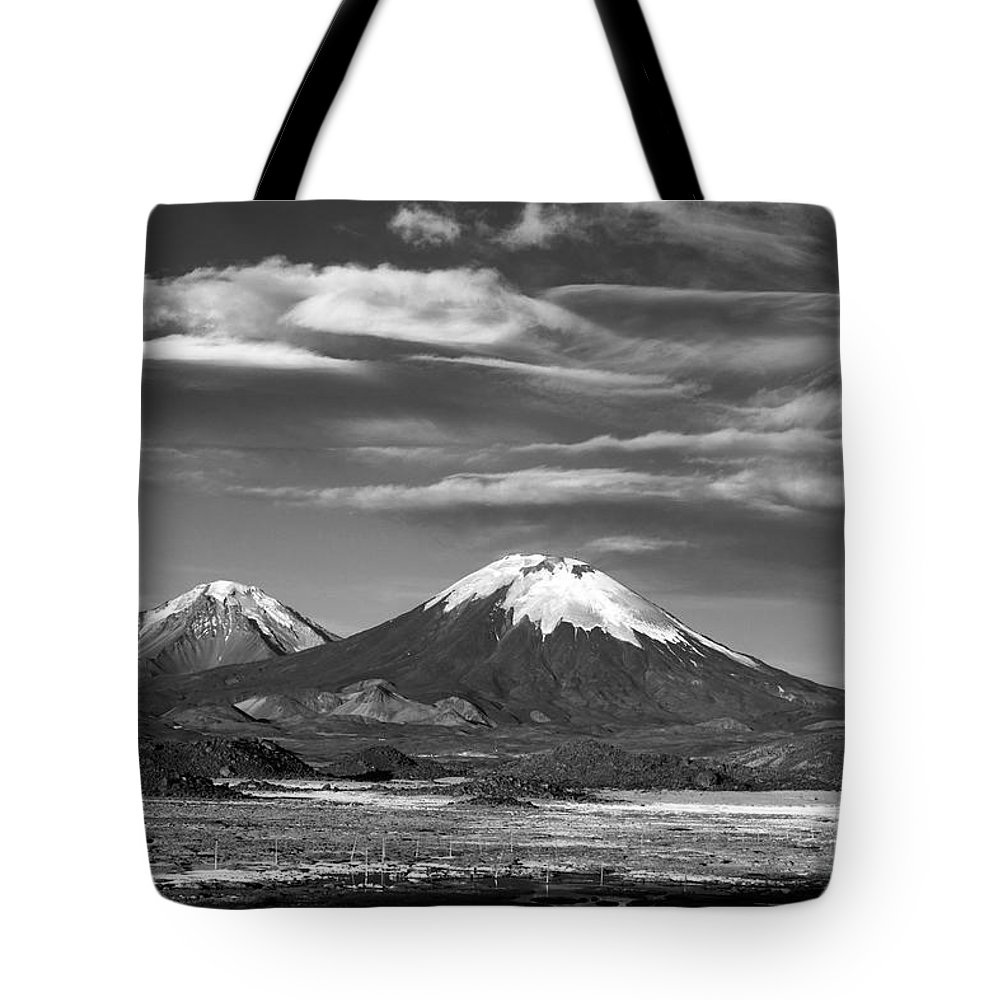 Chile Tote Bag featuring the photograph Air Currents by James Brunker
