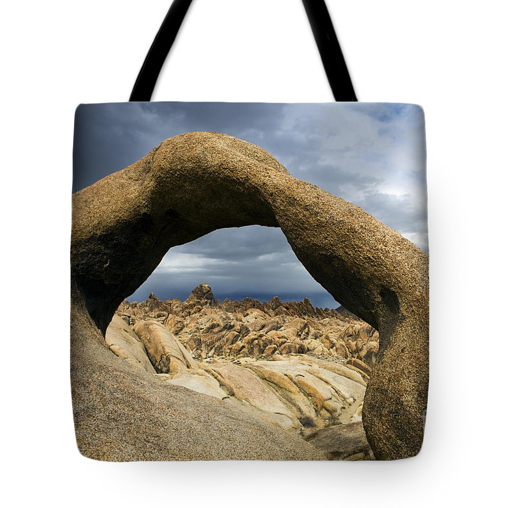 Travel Tote Bag featuring the photograph Alabama Hills Arch by Jason O Watson