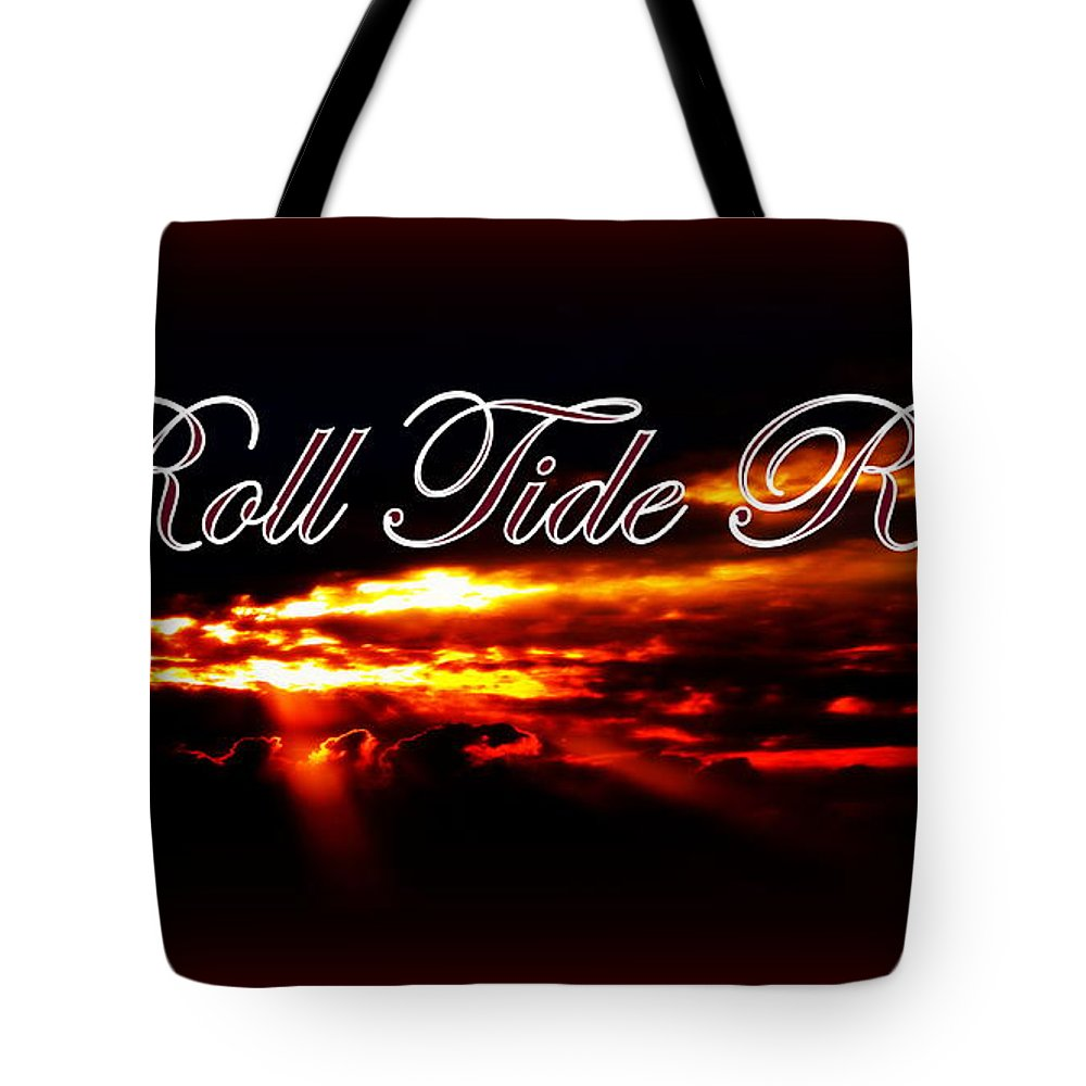 Alabama - Roll Tide Tote Bag featuring the photograph Alabama - Roll Tide by Travis Truelove