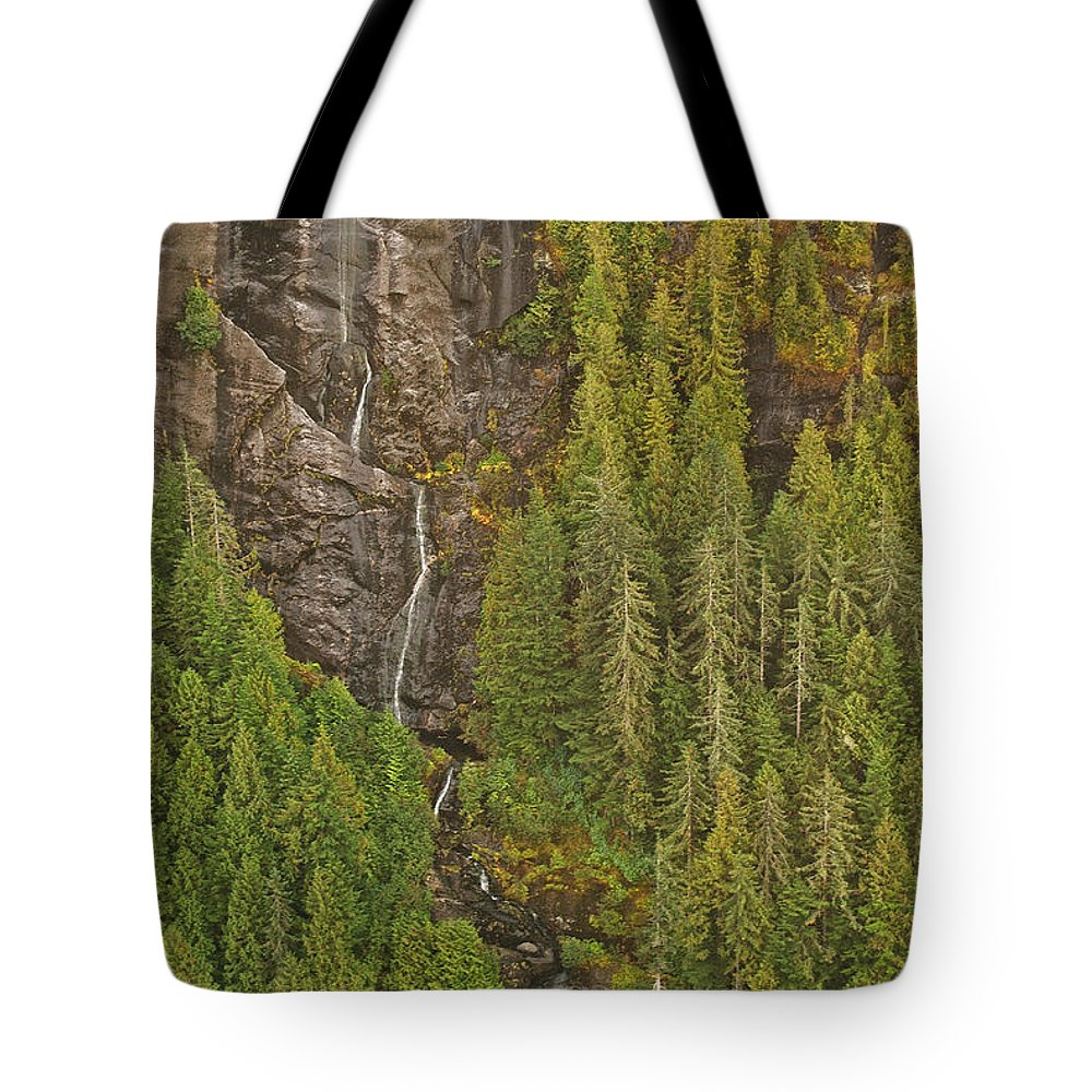 Alaska Tote Bag featuring the photograph Alaska 8962 by Michael Peychich