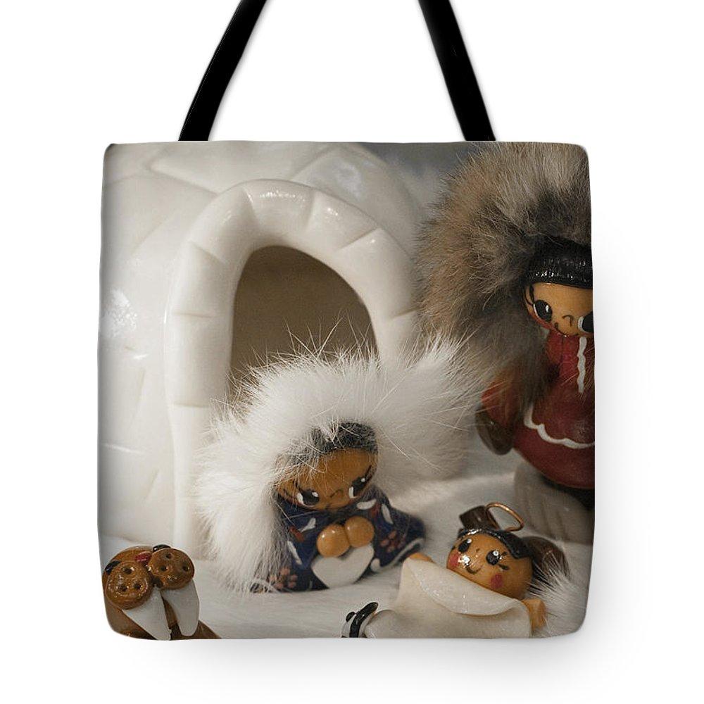 Alaska Tote Bag featuring the photograph Alaskan Winter by Tara Lynn