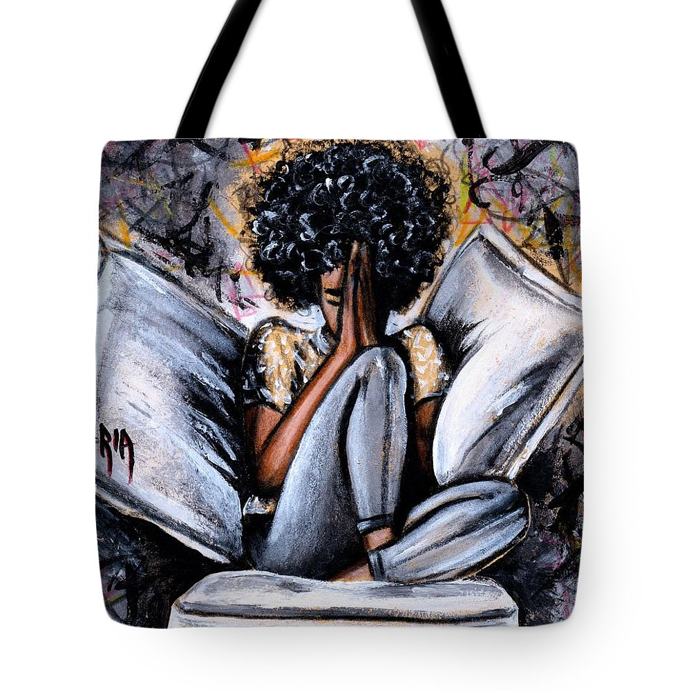 Artbyria Tote Bag featuring the photograph All I Have by Artist RiA
