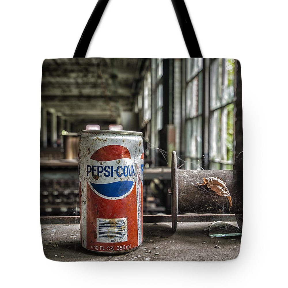 Pepsi Tote Bag featuring the photograph All I Wanted Was A Pepsi by Rob Dietrich