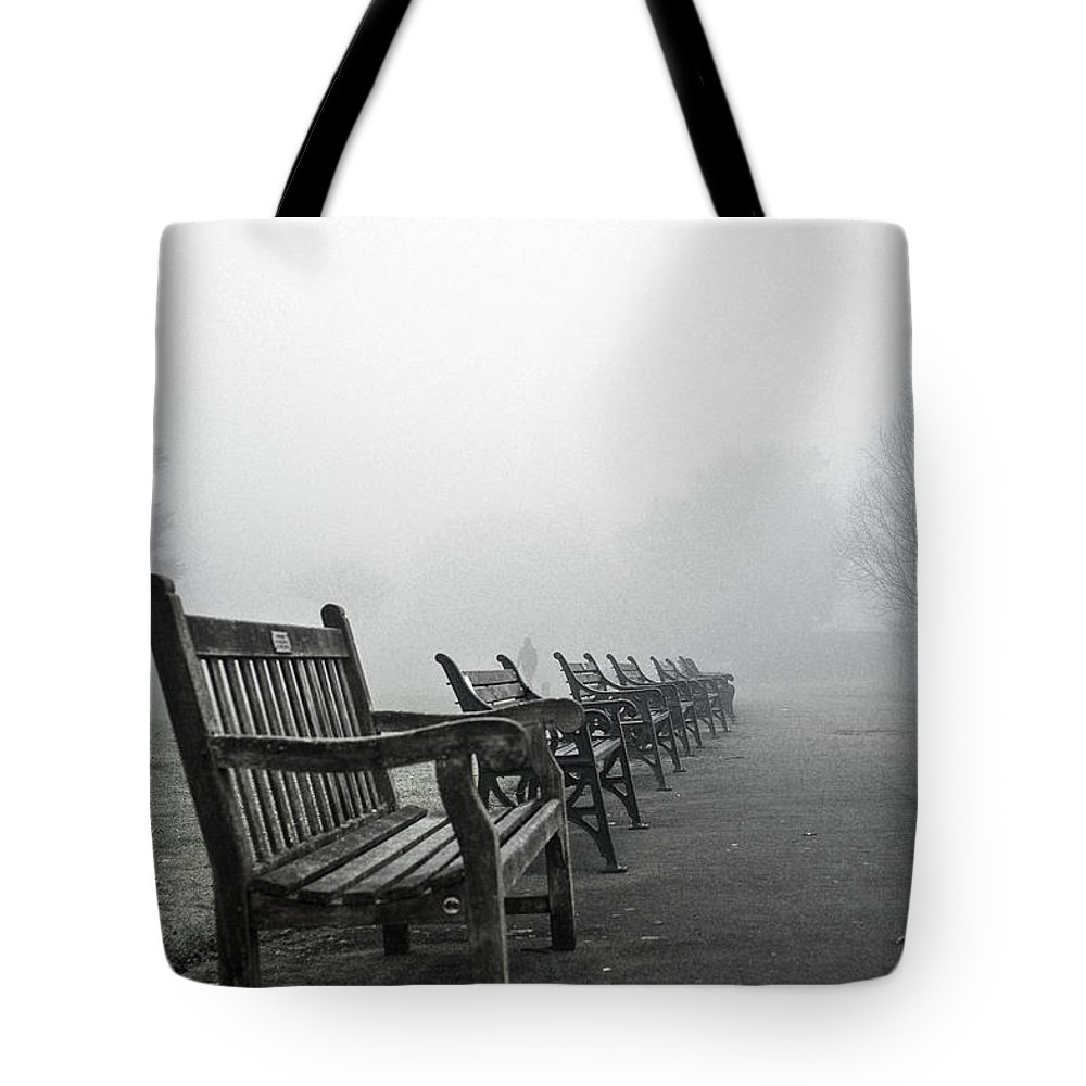 Uk Tote Bag featuring the photograph All Lined Up by Christopher Rees