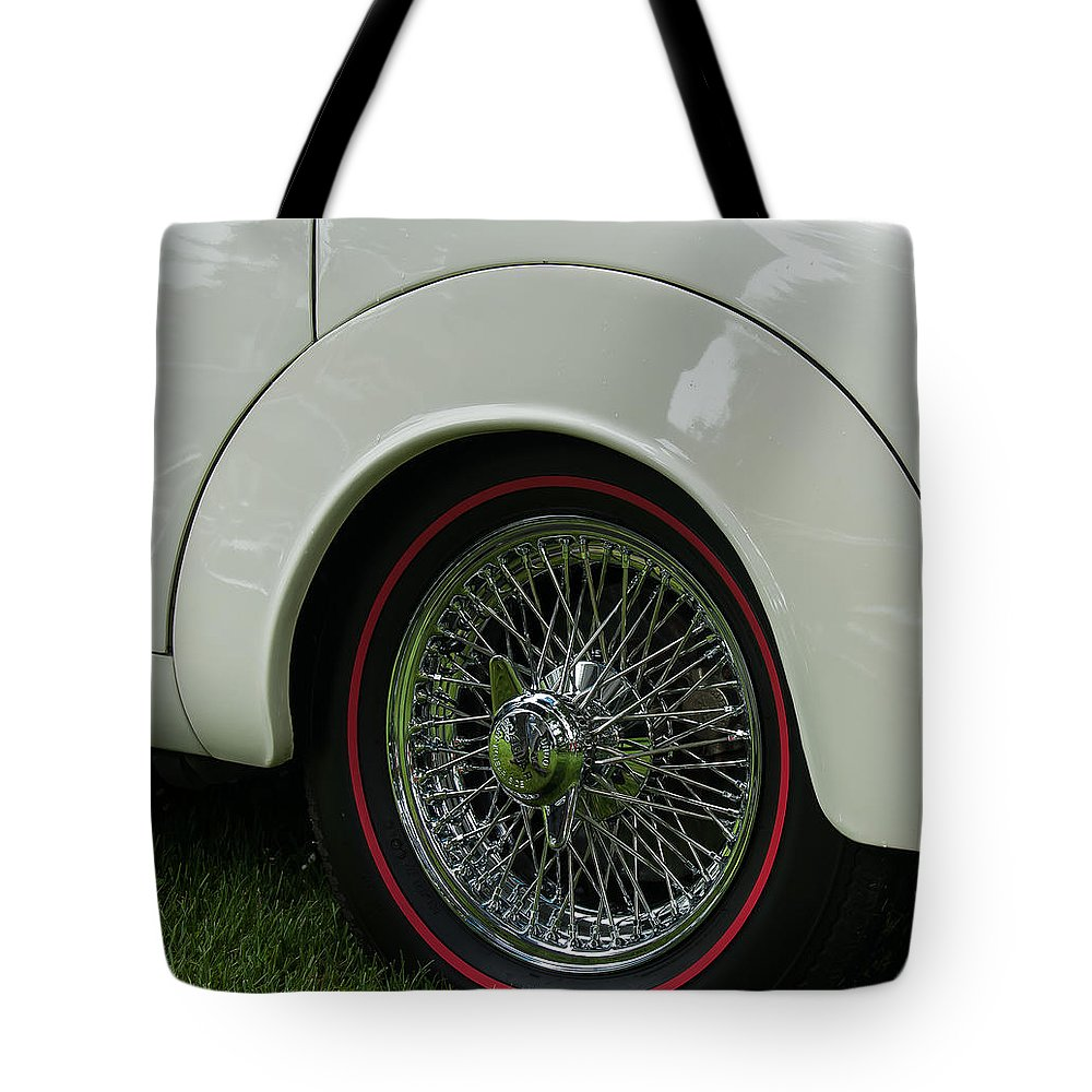 Car Tote Bag featuring the photograph All Round by Sabine Edrissi