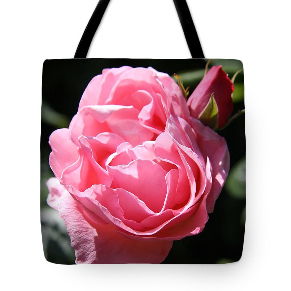 Rose Tote Bag featuring the photograph All Shades Of Pink by Christiane Schulze Art And Photography