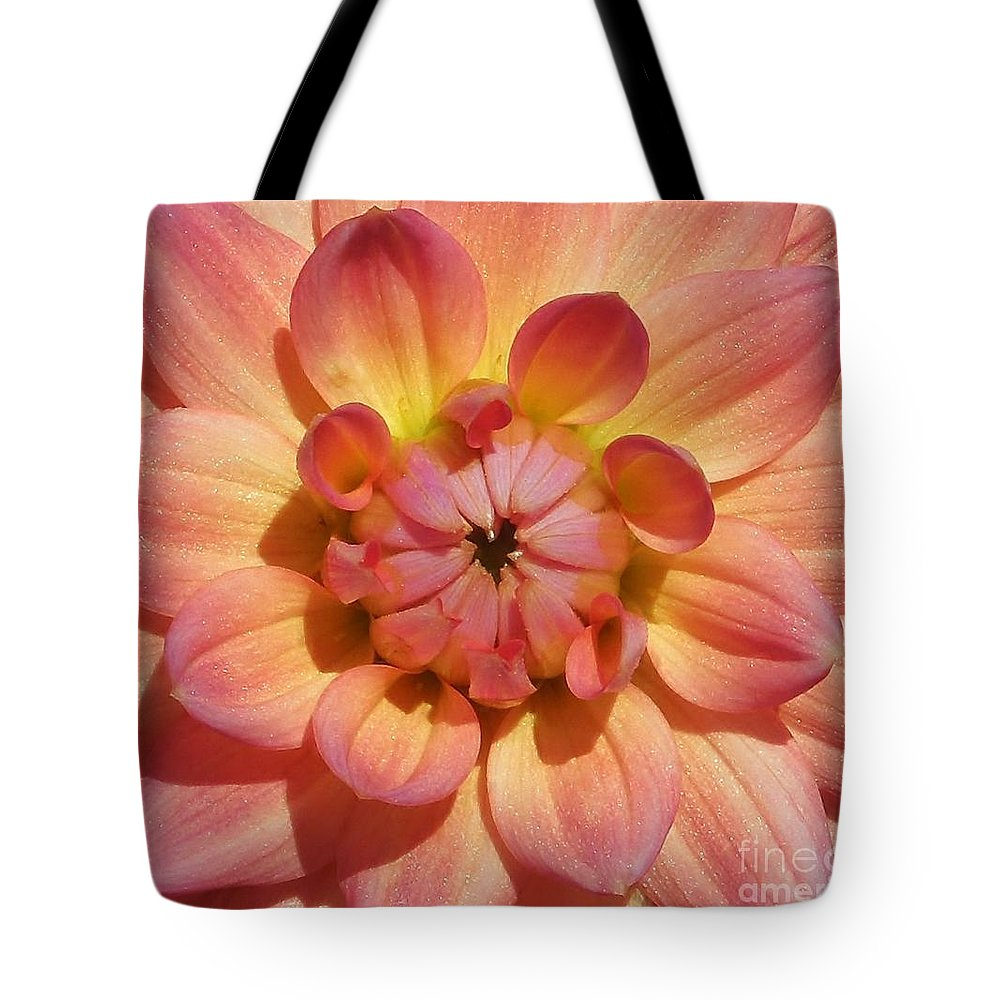 Flower Tote Bag featuring the photograph All That Glitters by Chad and Stacey Hall