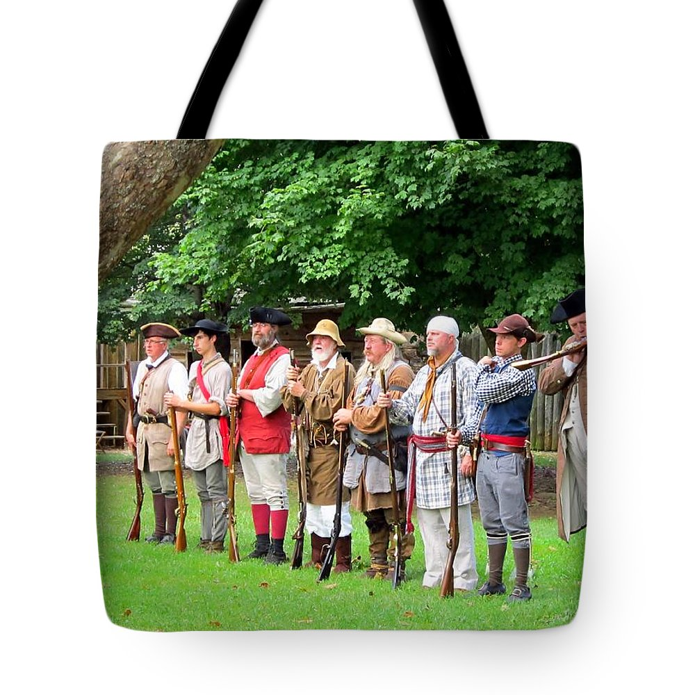 Reenacting Tote Bag featuring the photograph Almost All by Cynthia Clark