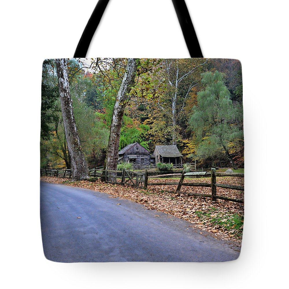 Paul Ward Tote Bag featuring the photograph Almost Home by Paul Ward