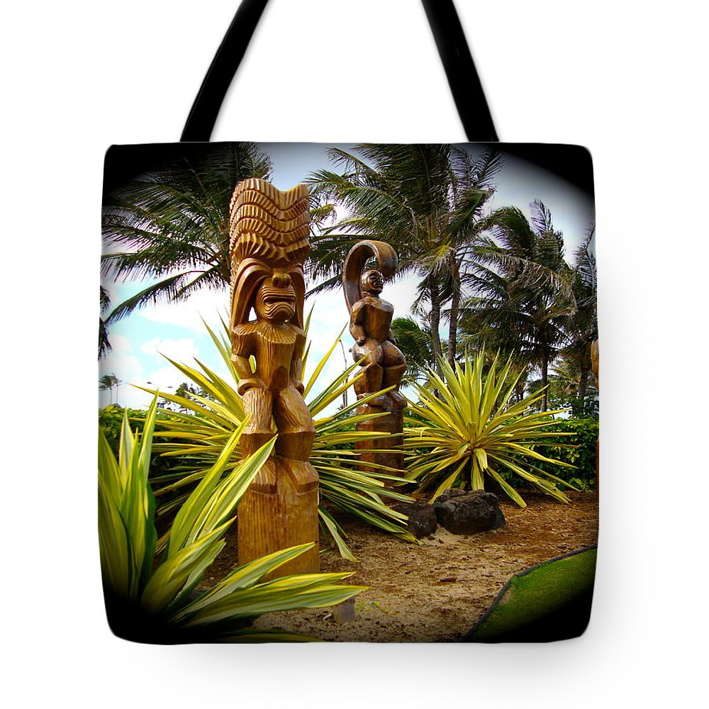 Hawaii Tote Bag featuring the photograph Aloha From Hawaii by Esther Wilhelm Pridgen