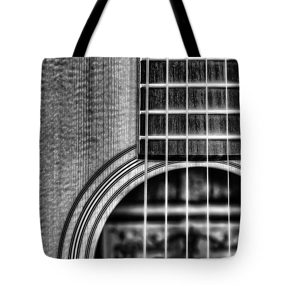 Fretboard Tote Bags