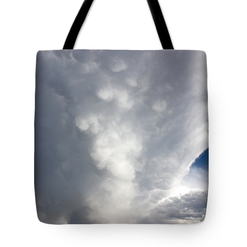 Storm Clouds Tote Bag featuring the photograph Amazing Storm Clouds by Shane Bechler