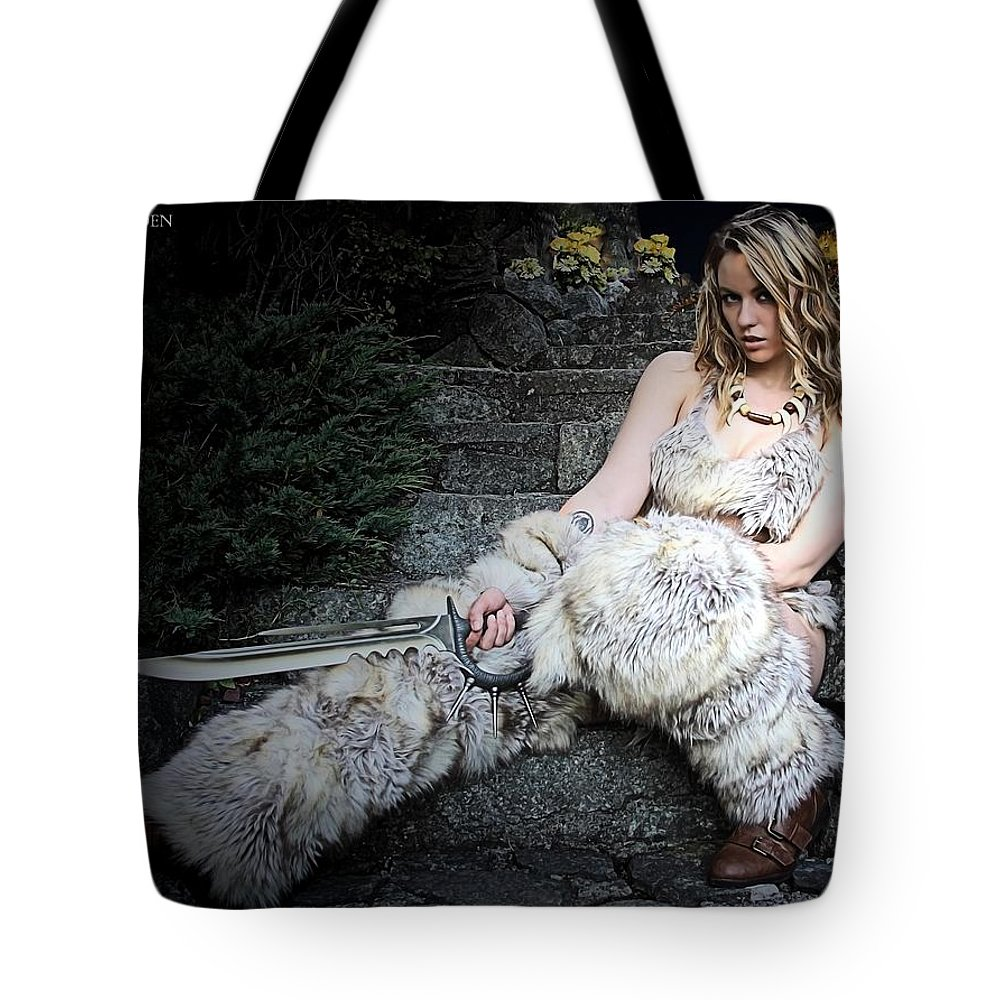 Sexy Tote Bag featuring the photograph Amazon At Rest by Jon Volden