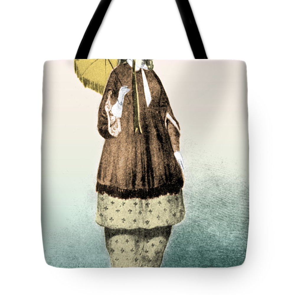 Amelia Jenks Bloomer Tote Bag featuring the photograph Amelia Jenks Bloomer American Activist by Photo Researchers