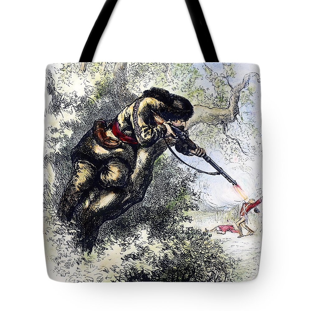 1780s Tote Bag featuring the photograph American Marksman by Granger