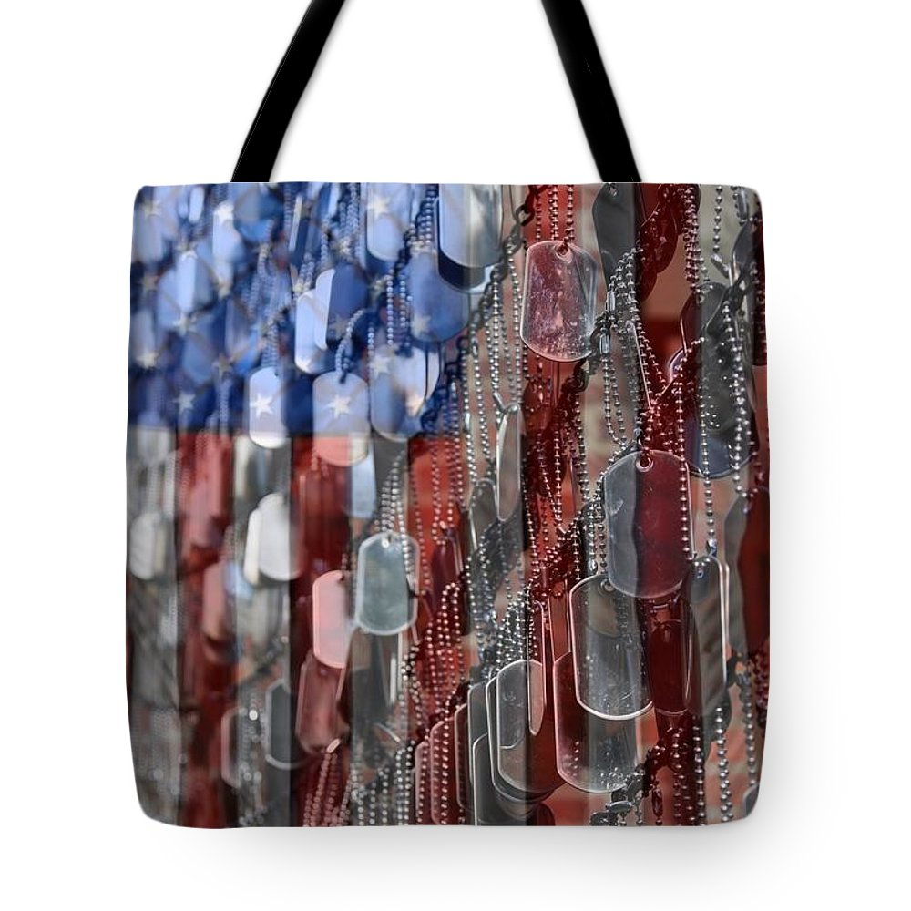 Service Photographs Tote Bags