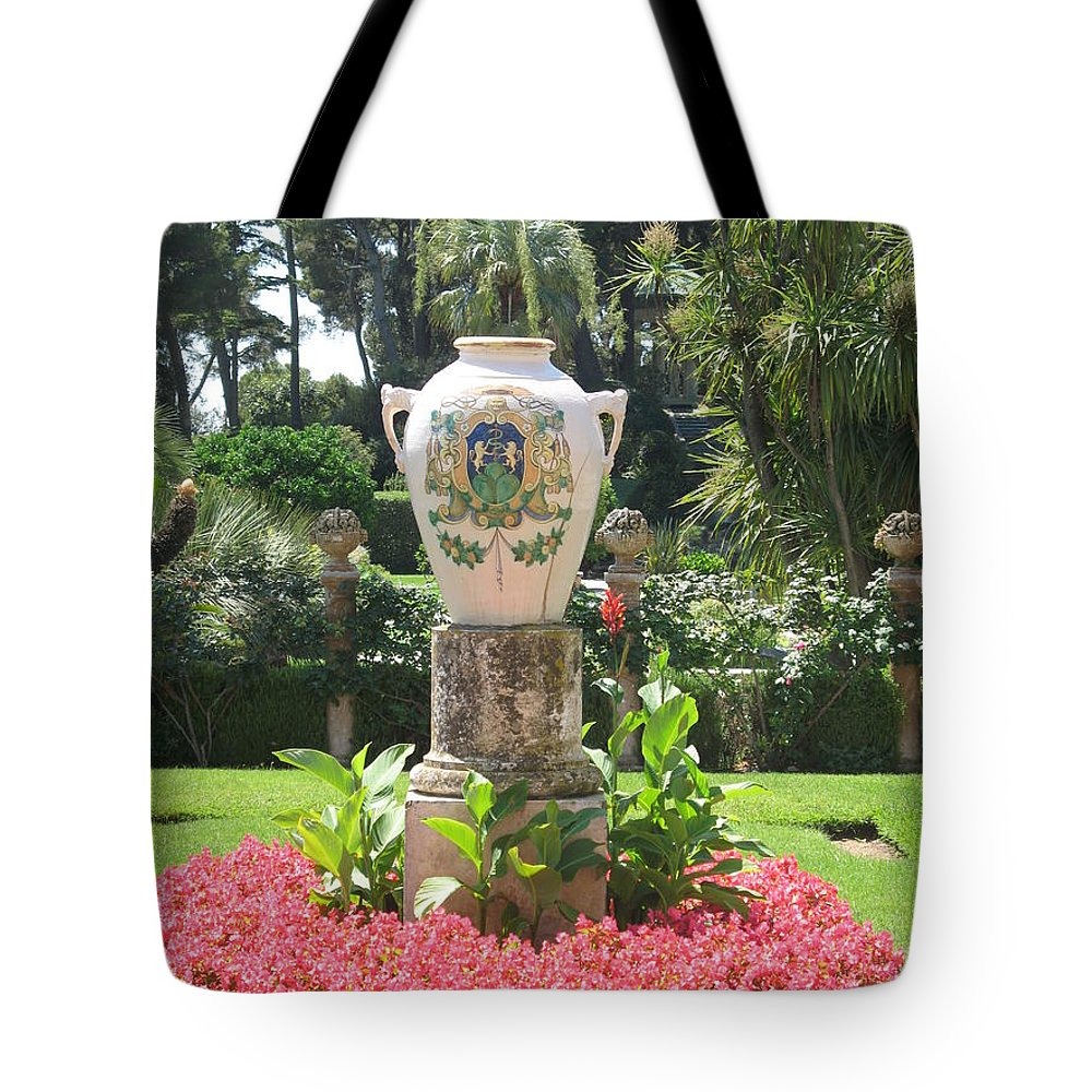 Amphora Tote Bag featuring the photograph Amphora by Christiane Schulze Art And Photography