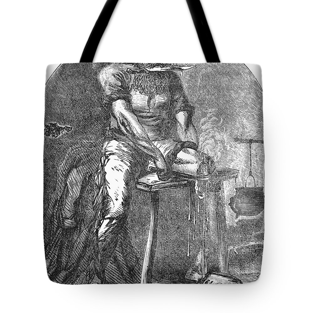 1865 Tote Bag featuring the photograph Amputation, 1865 by Granger