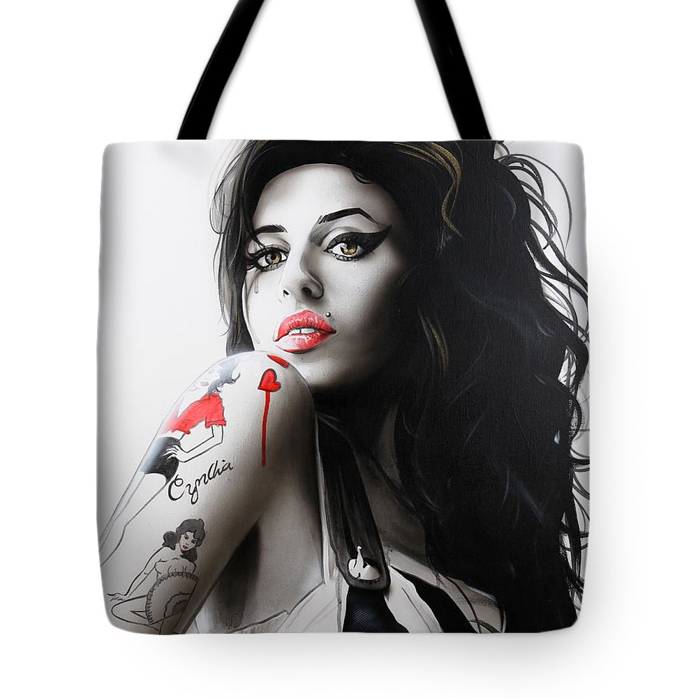 Rhythm And Blues Tote Bags
