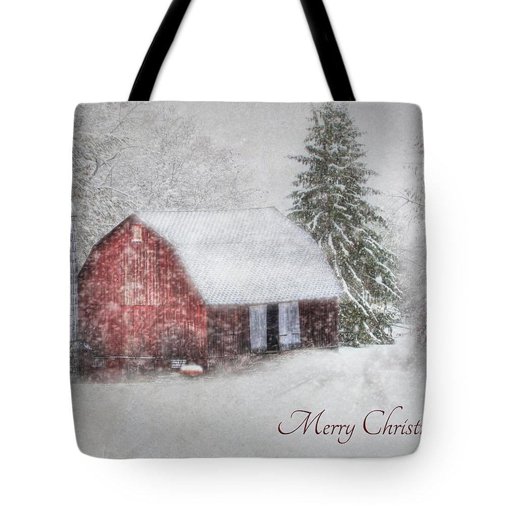 An Old Fashioned Merry Christmas Tote Bag for Sale by Lori Deiter