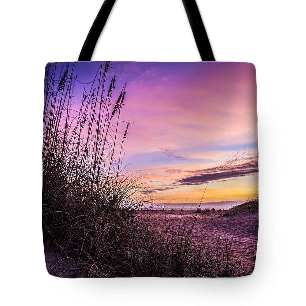 Clouds Tote Bag featuring the photograph Anastasia Dawn by Marvin Spates