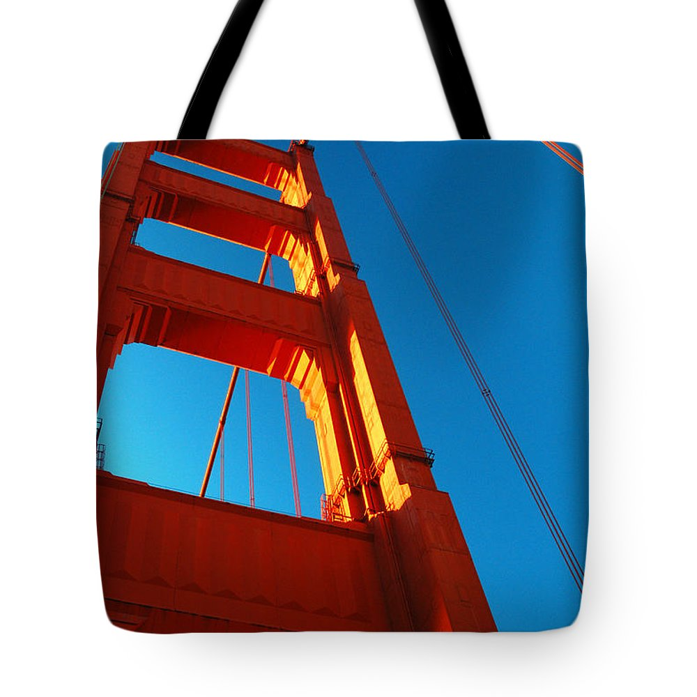 San Tote Bag featuring the photograph Anchor Of The Golden Gate by James Kirkikis