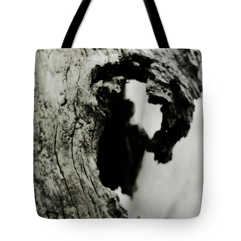 Forest Tote Bag featuring the photograph Ancient Goddess by Rebecca Sherman