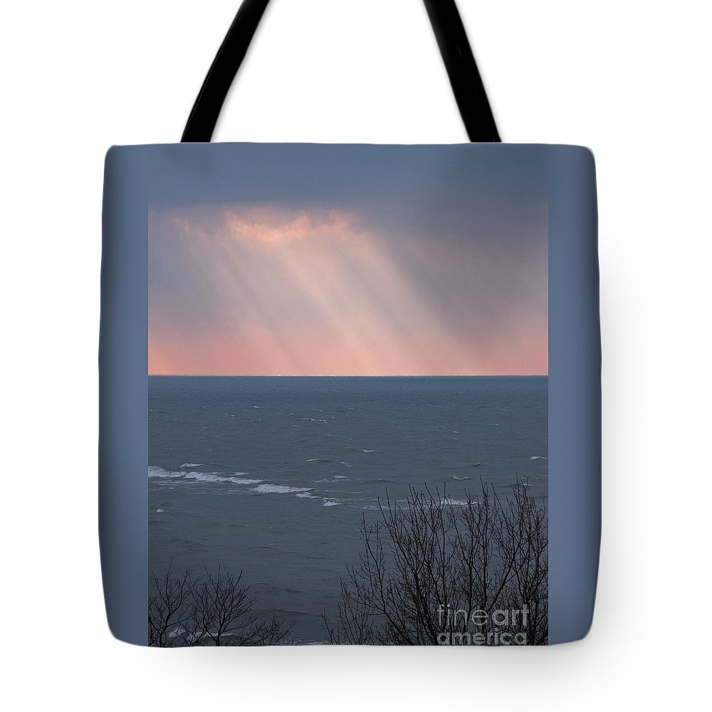 Light Tote Bag featuring the photograph And It Was Good by Ann Horn
