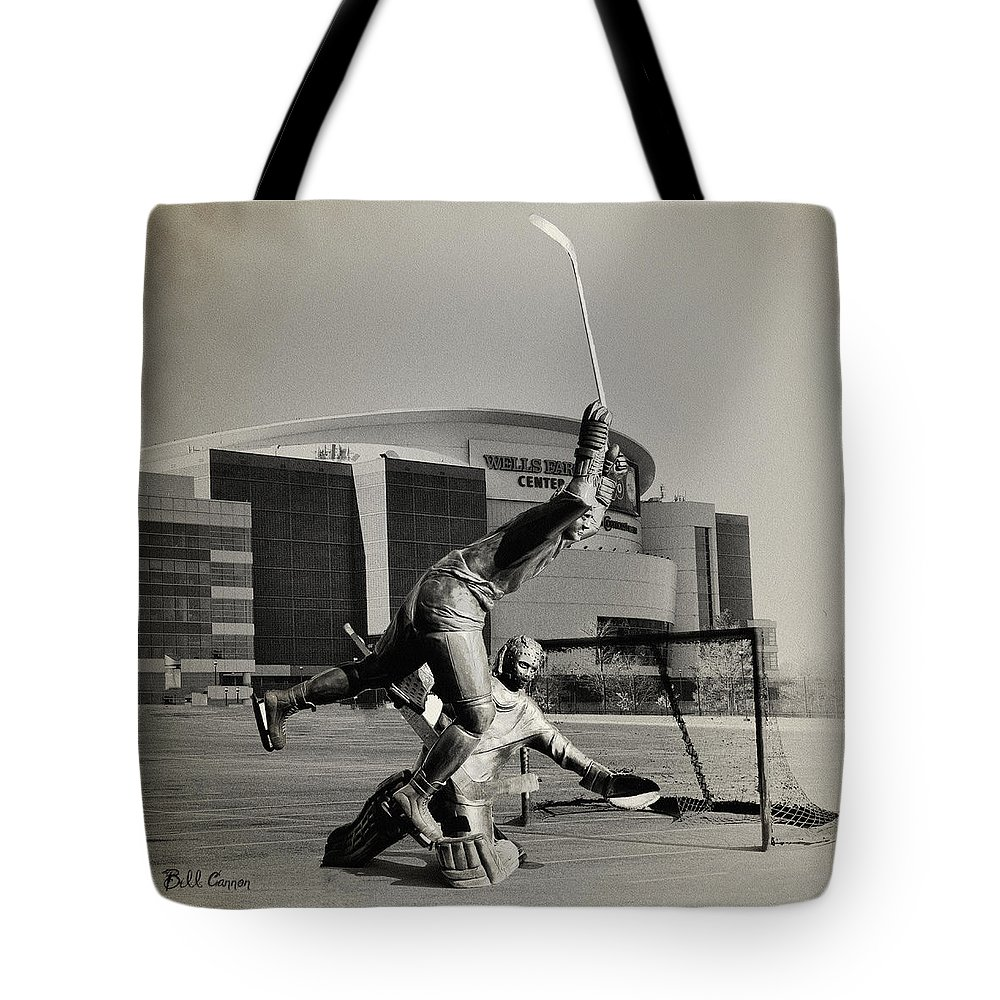 And The Flyers Win The Stanley Cup Tote Bag featuring the photograph And The Flyers Win The Stanley Cup by Bill Cannon
