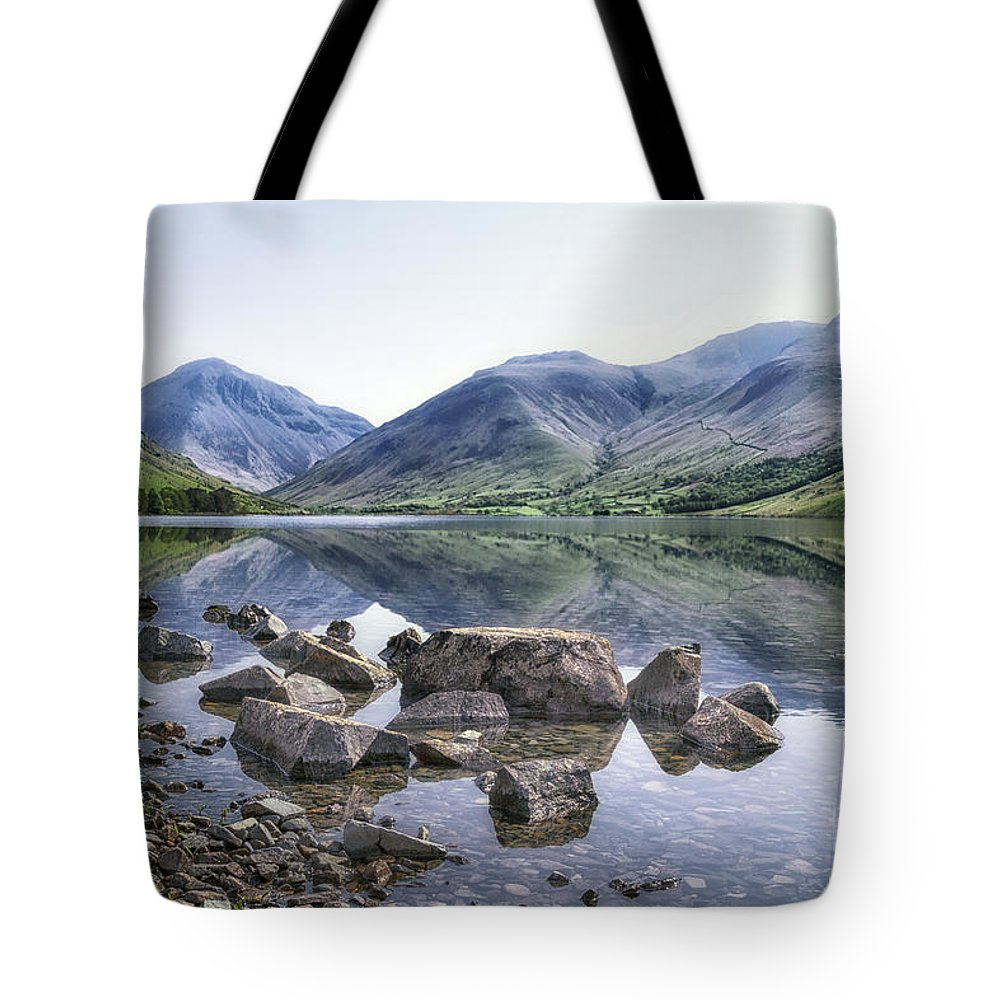 Kremsdorf Tote Bag featuring the photograph And There Was Peace... by Evelina Kremsdorf