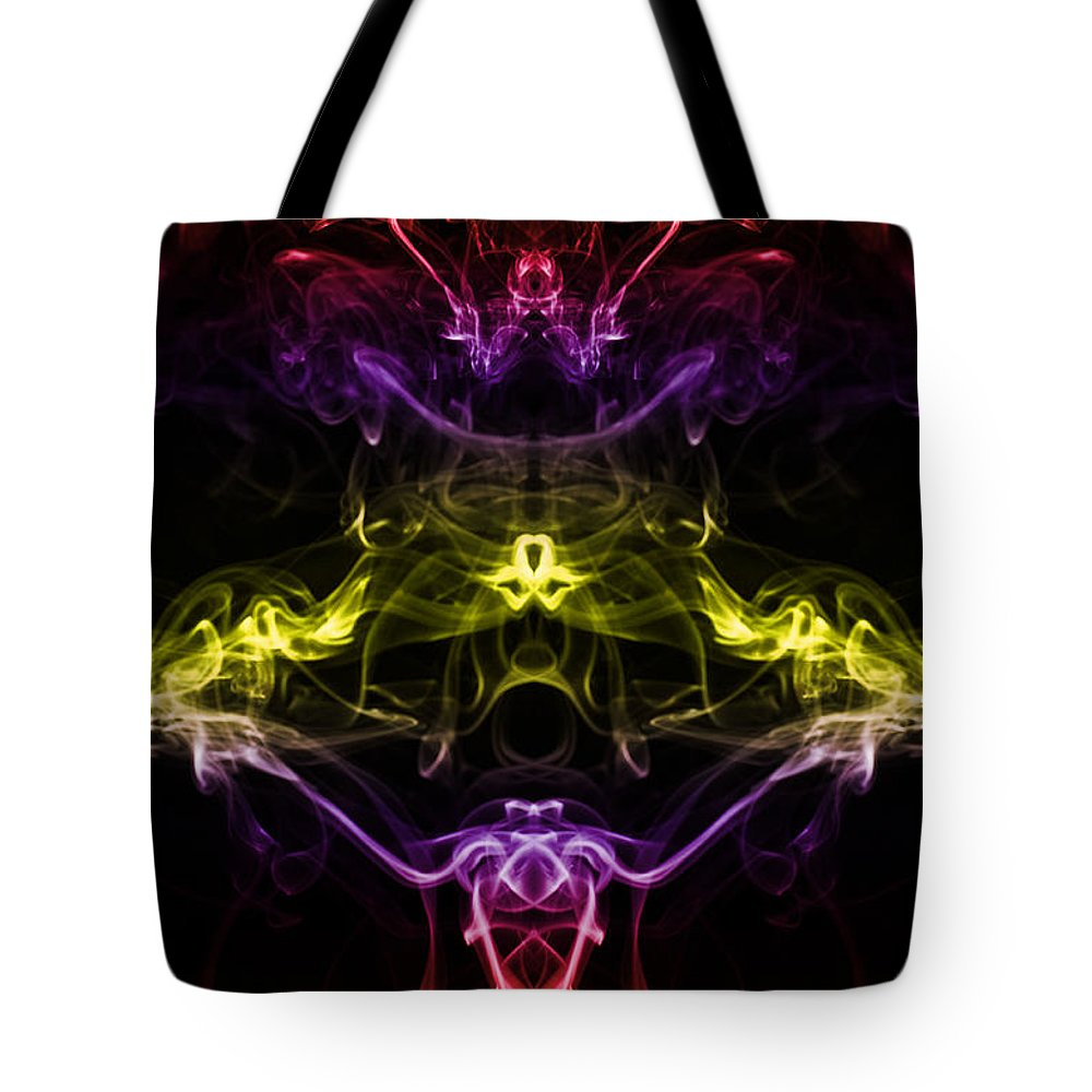 Abstract Tote Bag featuring the photograph And Where Have You Been by Steve Purnell