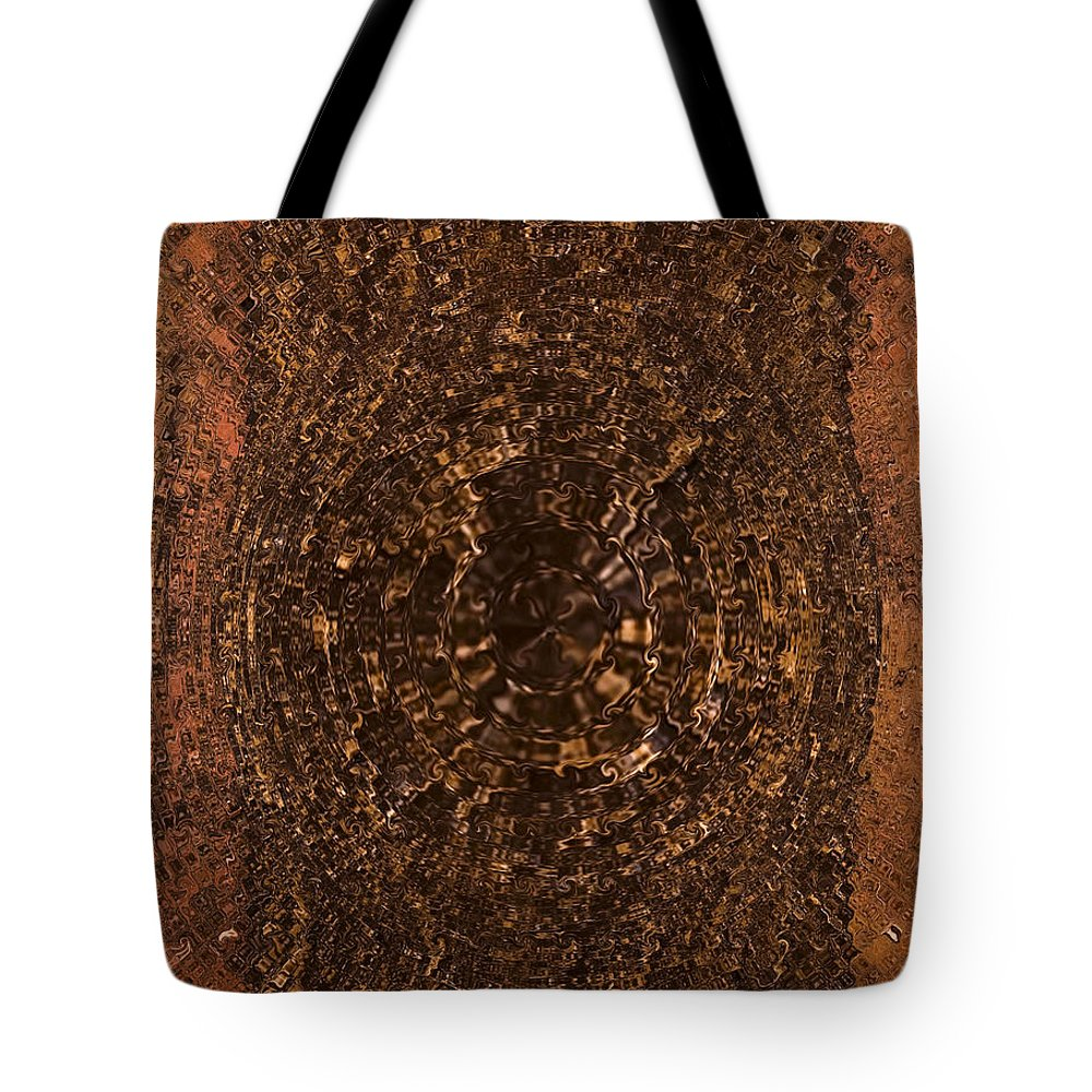 Brown Tote Bag featuring the painting Anaeous by Alli Cullimore