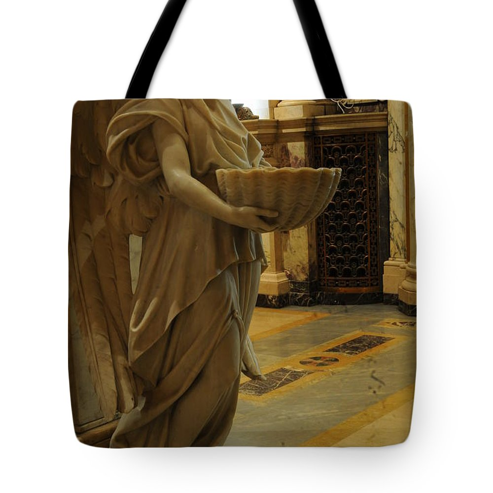 Angel Tote Bag featuring the photograph Angel Of Grace by Kathleen Struckle