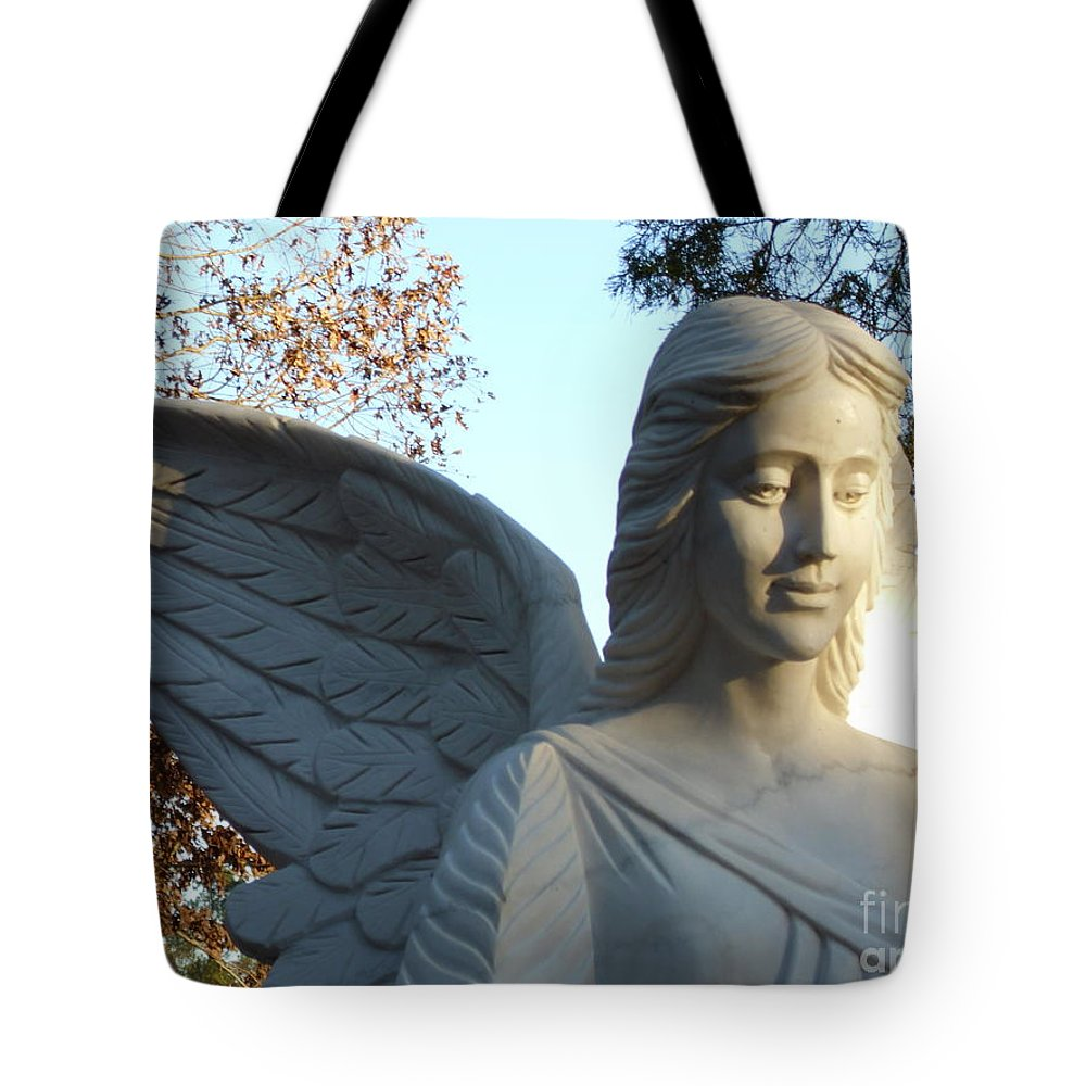 Angel Of The Morning Tote Bag featuring the photograph Angel Of The Morning by Kevin Croitz
