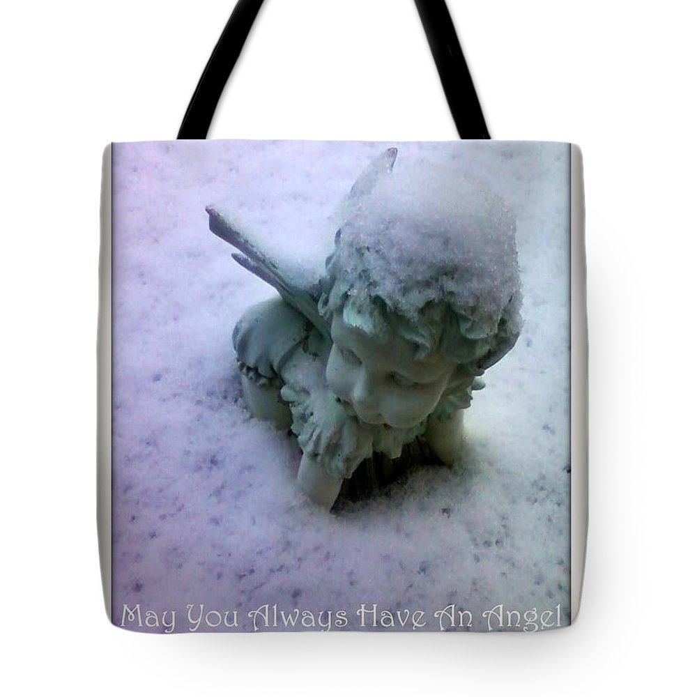 Angel Tote Bag featuring the photograph Angel by Vicki Lynn Sodora
