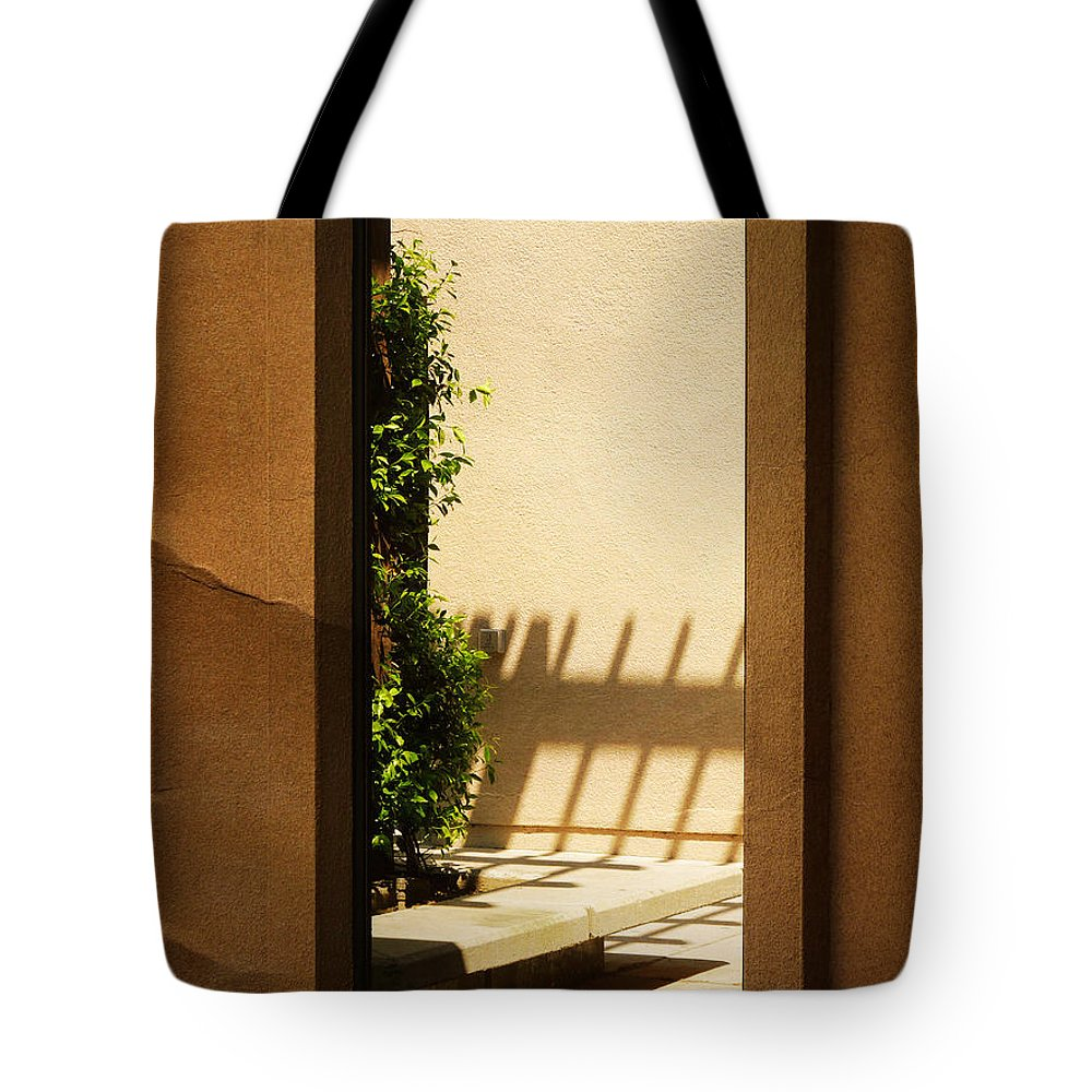 Window Tote Bag featuring the photograph Angled Reflections2 by Meghan at FireBonnet Art