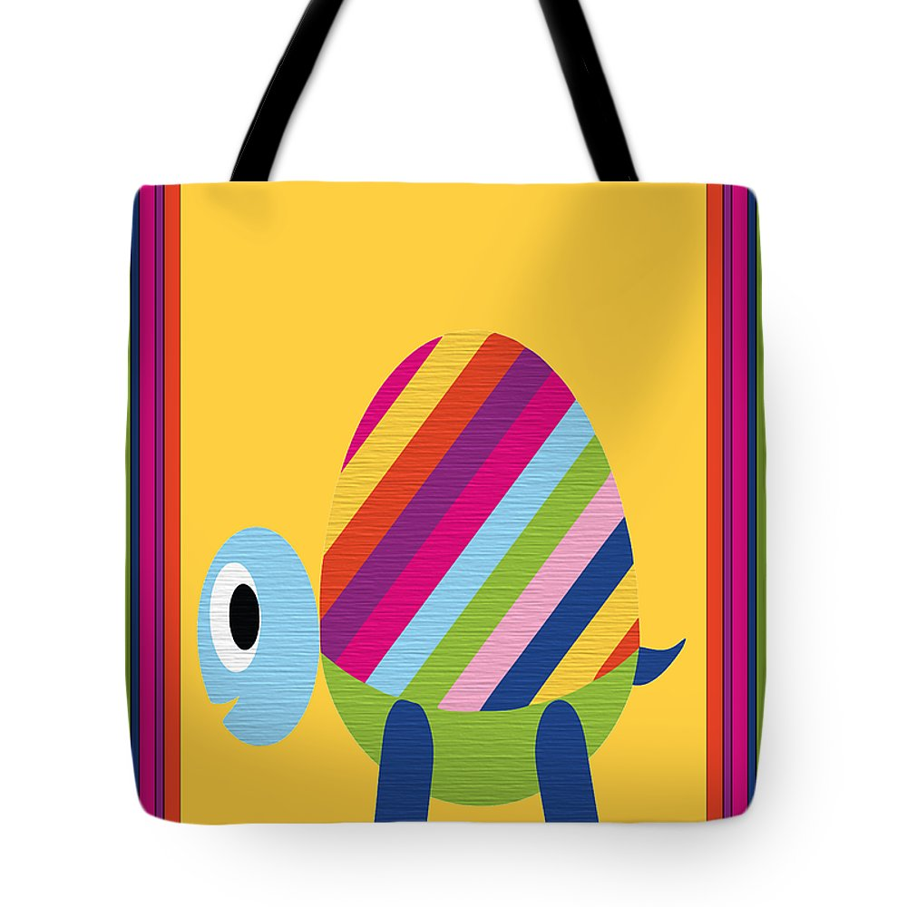 Animal Tote Bag featuring the digital art Animal Series 2 by Angelina Vick